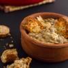 Onion Soup with Mushrooms & Trahanoto – Κρεμμυδόσουπα με Μανιτάρια & Τραχανότο