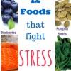12 Foods that Fight Stress – 12 Τροφές που Καταπολεμούν το Στρες