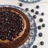 Chocolate Blueberry Pie – Τάρτα με Σοκολάτα και Μύρτιλλα