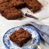 Υγιεινό Μπράουνι με Φουντουκοβούτυρο – Hazelnut Brownie (Gluten-free)