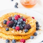 Protein Pancake with Turmeric – Πρωτεϊνική Τηγανίτα με Κουρκουμά