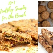 10+1 Healthy Snacks for the Beach - 10+1 Υγιεινά Σνακ για την Παραλία