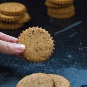 Μπισκότα Digestive Χωρίς Γλουτένη - Gluten-Free Digestive Cookies