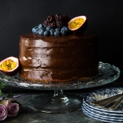 Υγιεινή Τούρτα Σοκολάτας – Healthy Chocolate Birthday Cake