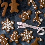 Vegan Χριστουγεννιάτικα Μπισκότα – Vegan Gingerbread Cookies