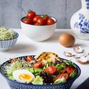 Σαλάτα με Ταλαγάνι, Αυγό και Αβοκάντο - Talagani, Egg & Avocado Buddha Bowl