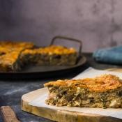 Μελιτζανόπιτα χωρίς φύλλο – Eggplant Pie