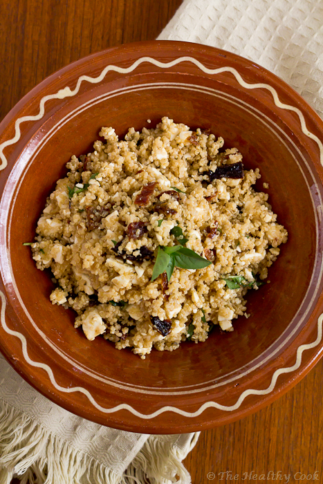 Quinoa salad with Feta and Sun-dried Tomatoes – Σαλάτα με Κινόα, Φέτα και Λιαστές Τομάτες