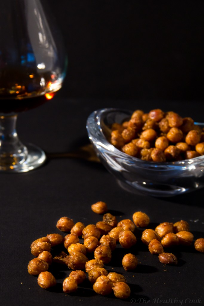 Spicy Roasted Chickpea Snack – Πικάντικα Ψητά Ρεβίθια