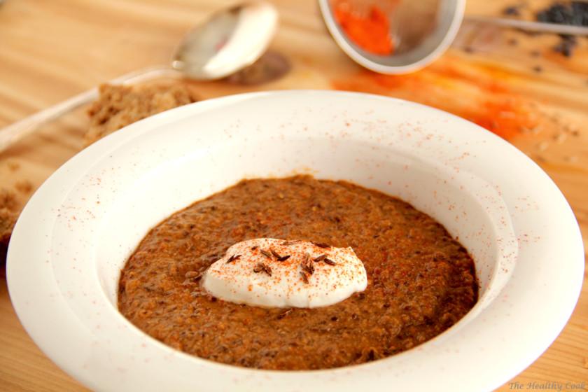 Spicy Black Lentils Soup (Daal Makkhani) – Πικάντικη Σούπα με Μαύρες Φακές