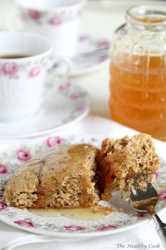 Healthy Dried Fig & Poppy Seed Scones – Υγιεινά Scones με Ξερά Σύκα & Παπαρουνόσπορο