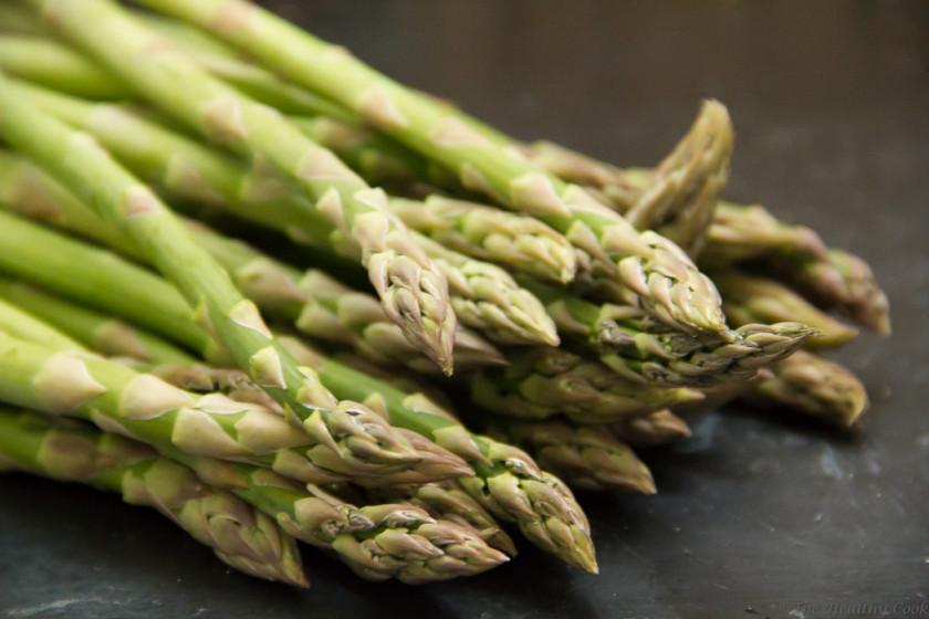 #asparagus, #salad, #salmon