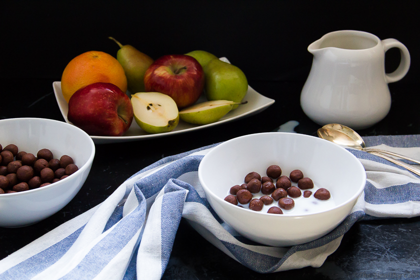 #breakfast, #chocolate, #cocoa_puffs, #homemade