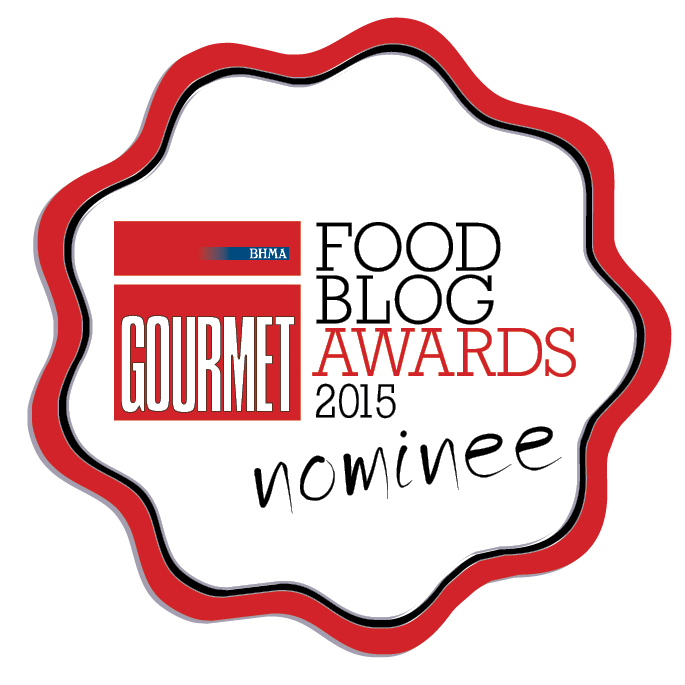 Food Blog Awards 2015 Nominee Badge