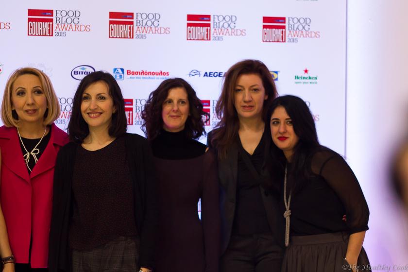 Food Blog Awards 2015 ceremony