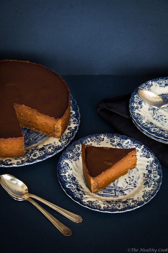 Buckwheat Chocolate Chestnut Tart – Τάρτα με Σοκολάτα και Κάστανα (χωρίς γλουτένη)