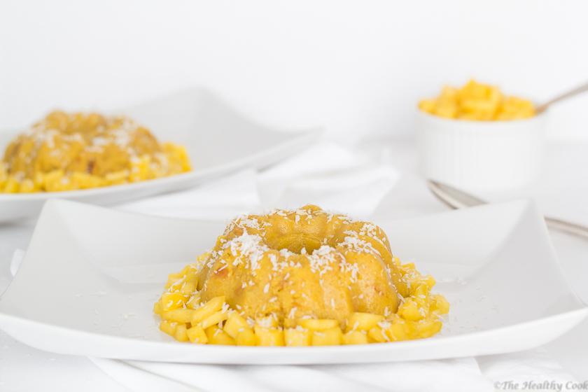 Mango Semolina Pudding (Halwa) – Σιμιγδαλένιος Χαλβάς με Μάνγκο
