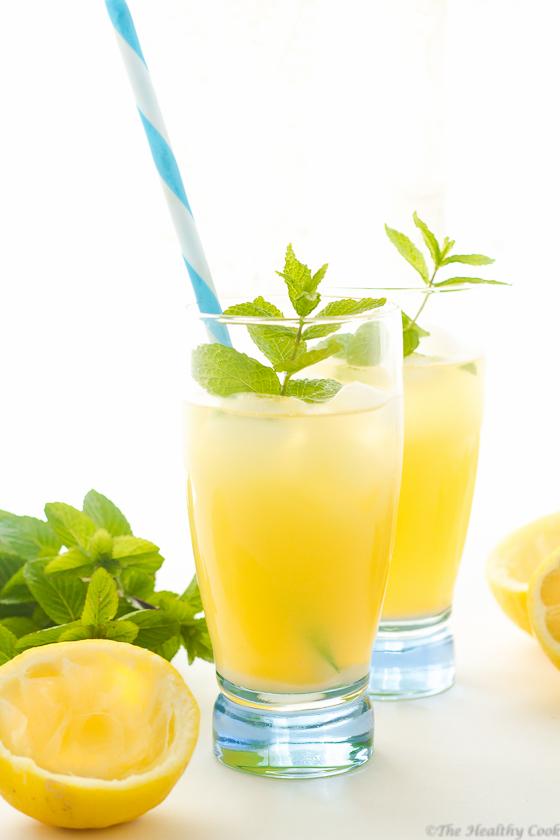 Mint Syrup Lemonade – Λεμονάδα με Σιρόπι Μέντας