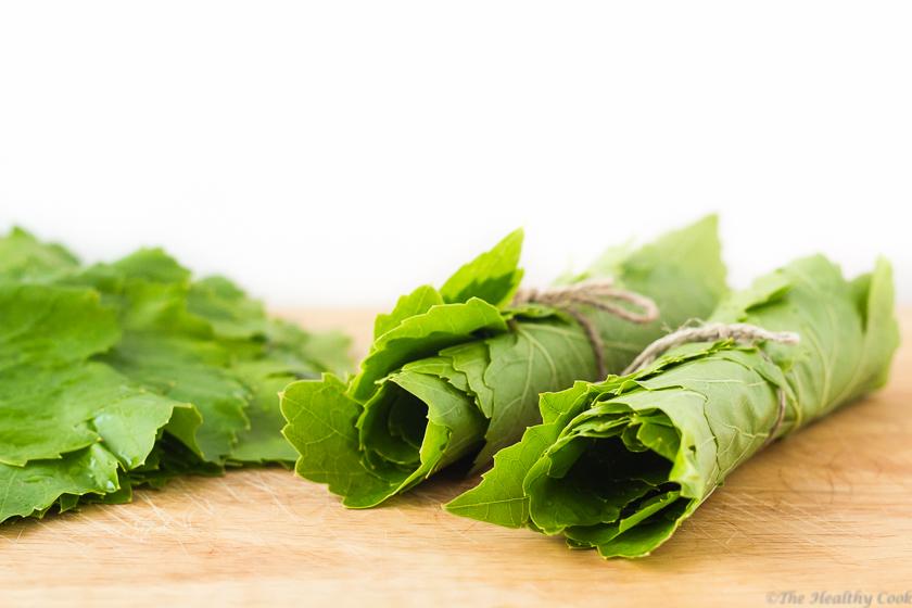 Blanching-Vine-Leaves – Ζεμάτισμα-Κληματόφυλλων