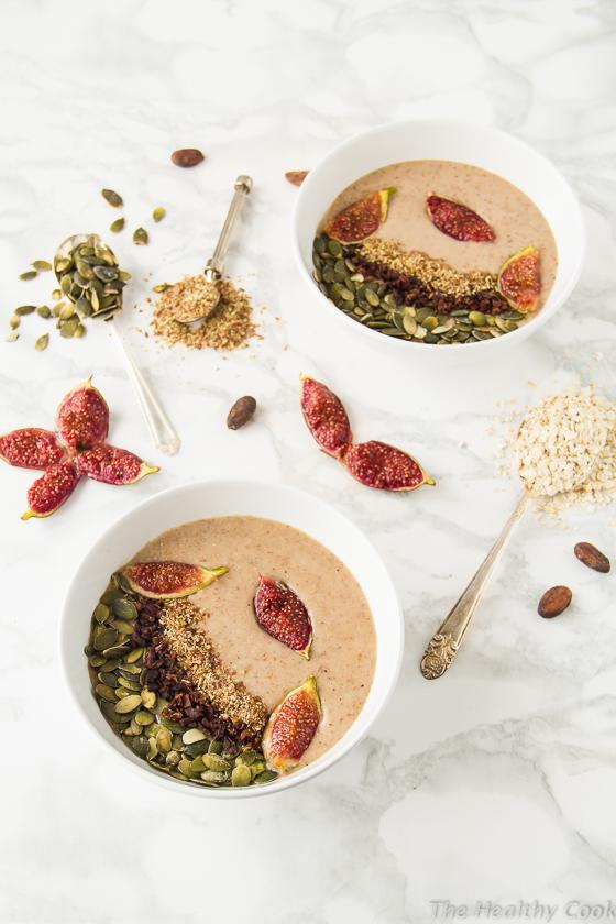 Vegan-Roasted-Fig-Smoothie-Bowl – Smoothie-Bowl-με-Ψητά-Σύκα