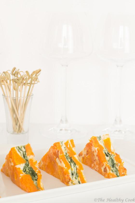 Pumpkin-&-Spinach-Frittata – Φριτάτα-με-Κολοκύθα-&-Σπανάκι