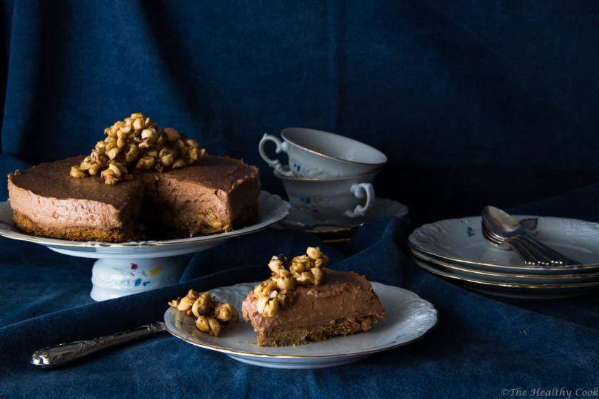 Healthier-Nutella-Cheesecake – Cheesecake-με-Nutella