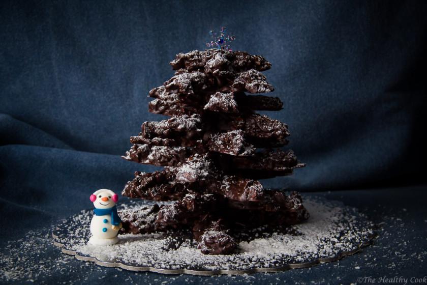 Christmas-Chocolate-Tree – Χριστουγεννιάτικο-Σοκολατένιο-Δεντράκι