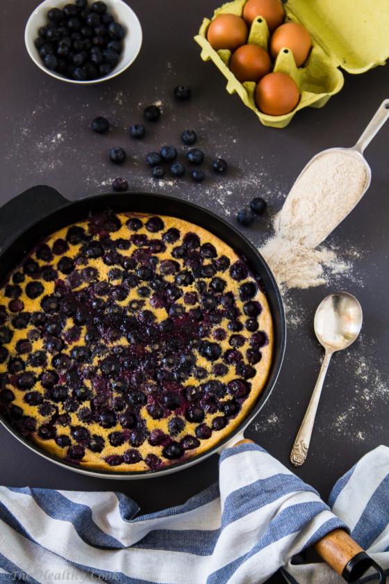 Lemon-Blueberry-Clafoutis – Clafoutis-Λεμόνι-Μύρτιλα