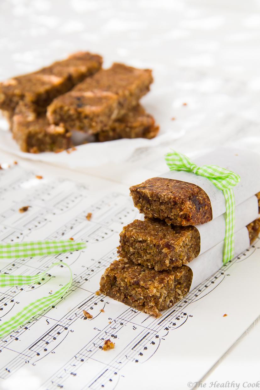 Μπάρες ενέργειας με καρύδα και λάιμ, ένα εύκολο, υγιεινό και θρεπτικό σνακ - Coconut and lime energy bars, an easy, healthy and nutritious snack