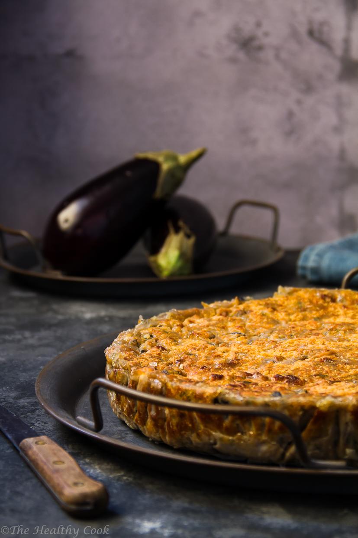 eggplant pie